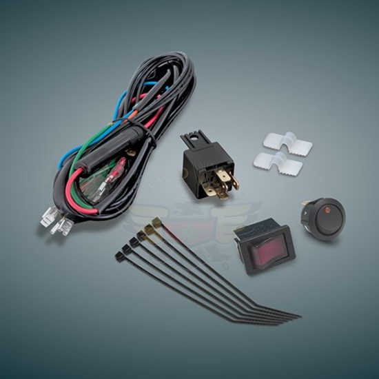 DRIVING LIGHT WIRING KIT 12V (New) 16-126