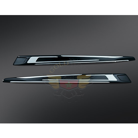 BAHN SADDLEBAG LID ACCENTS 7294