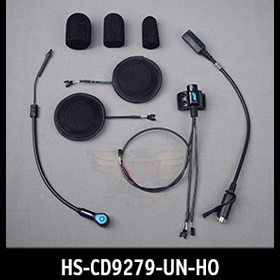 Performance Series Headset w/HO AeroMike® III Open/Flip/Full-face Style HS-CD9279-UN-HO